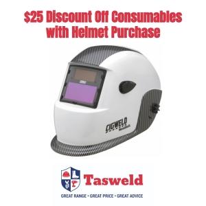 Cigweld Weldskill Auto Darkening Welding Helmet with Discount Offer