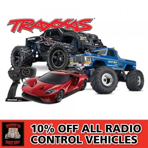 10% Off Radio Controlled Vehicles