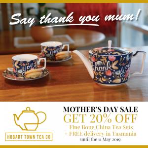 Mother's Day Sale - 20% Off Tea Sets