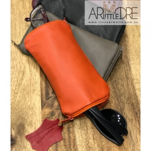 Franco Bonini - Double Sided Soft Leather Spectacle Case