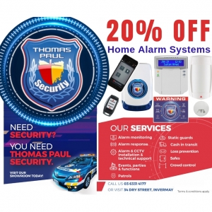 20% Off Home Alarm Systems