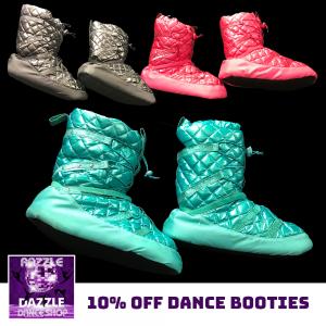 10% Off Dance Booties