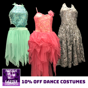 10% Off Dance Costumes