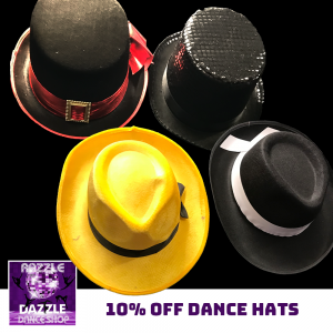 10% Off Dance Hats
