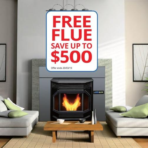 Pellet Heaters_Free Flue Kit