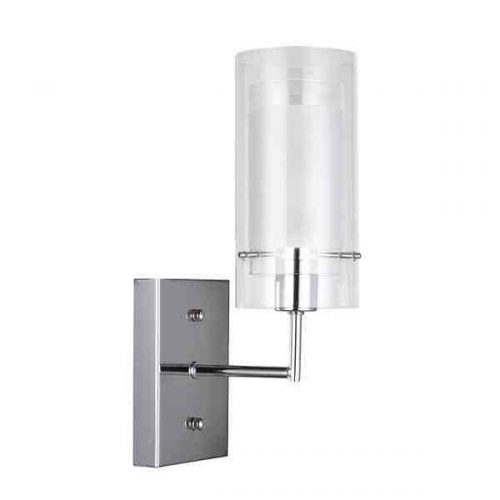 ABBEY PENDANT WALL LIGHT CHROME