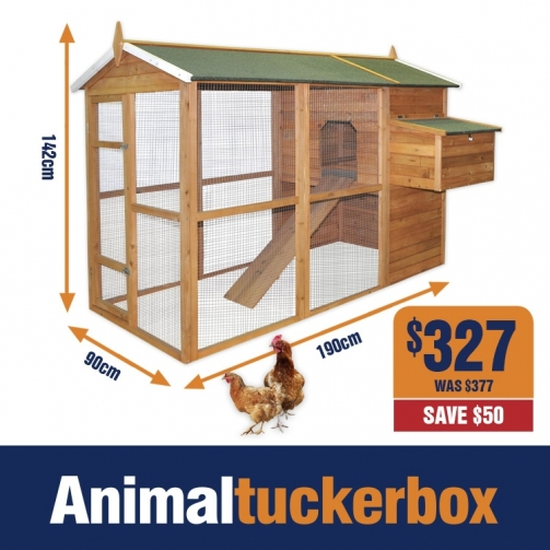 ATB Wooden Chook House 327
