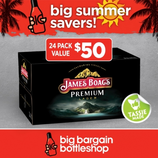BBB James Boags24 Pack