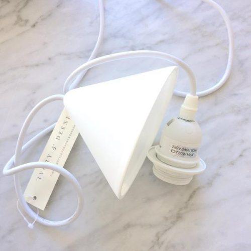 BYRON ROPE PENDANT LIGHT WHITE 6