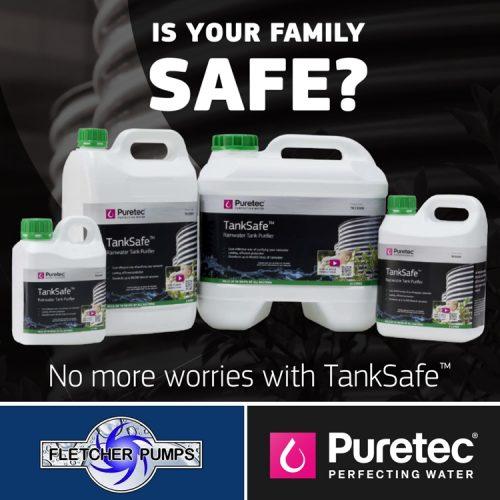 Fletcher Puretec Tank Safe