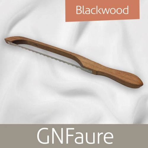 GN Faure Bow Bread Knife Blackwood