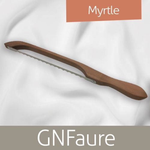 GN Faure Bow Bread Knife Myrtle