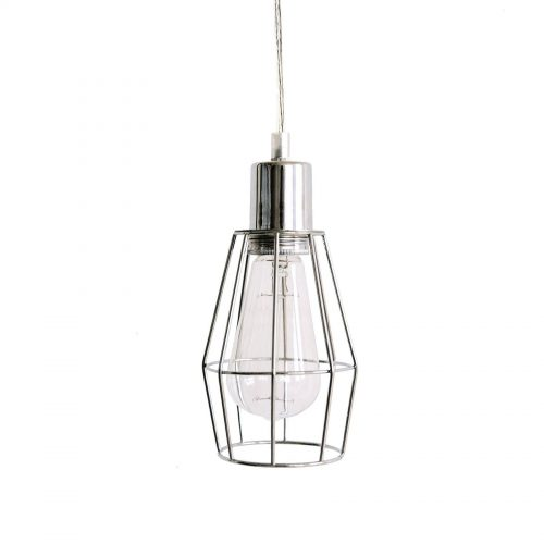 IVD256 chrome wire cage pendant ivory and deene 3 1800x1800