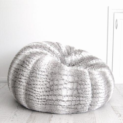 IVD361 fur beanbag husky silver grey 1800x1800