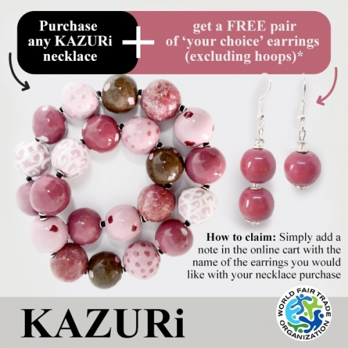 KAZU Ri Necklaces Rose Ting Ting