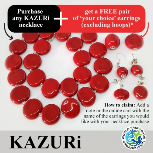 KAZU Ri Necklaces red Smartie