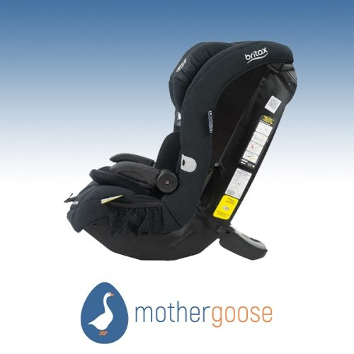 Mother Goose Britax Maxi Guard Black Car Seat 2