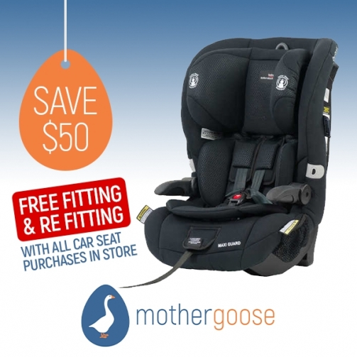 Mother Goose Britax Maxi Guard Black Car Seat
