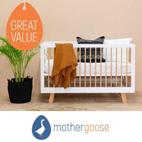 Mother Goose Mocka Aspen Cot
