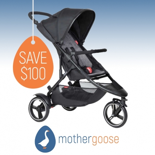 Mother Goose Model Phil Teds Dot Buggy