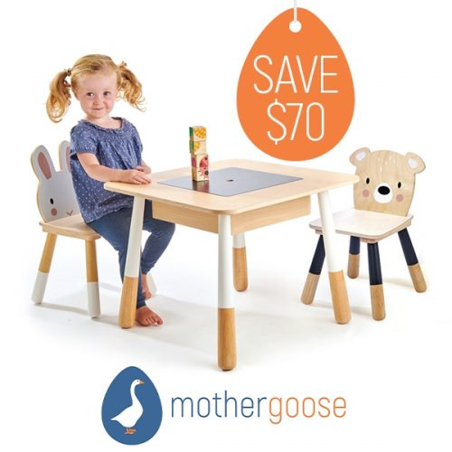 Mother Goose Table Chairs