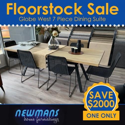 Newmans Floorstock Globe