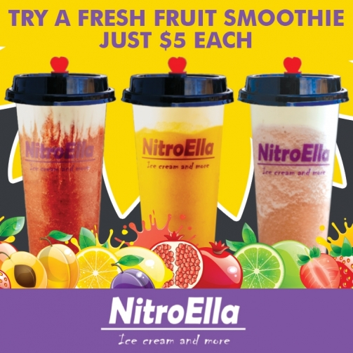 Nitro Ella Fresh Fruit Smoothies