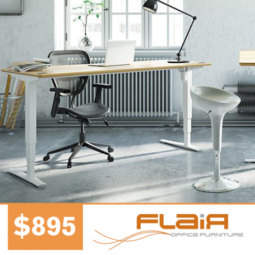 Offer1_Flair_Electric Height Adjustable Desk