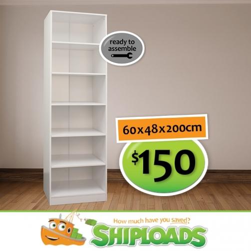 SHP Wardrobe Shelves 150