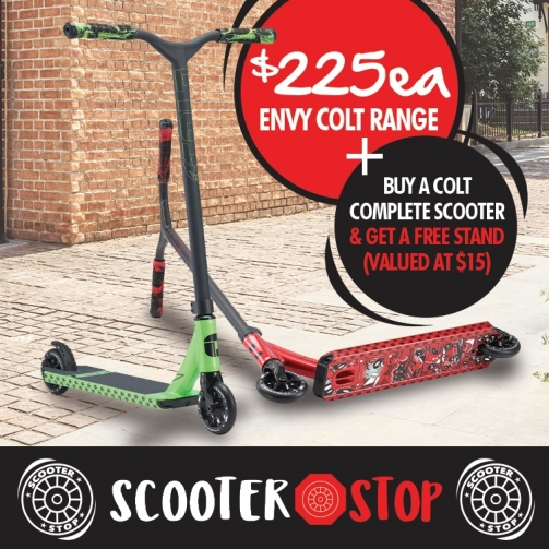 Scooter Shop Envy Colt Range