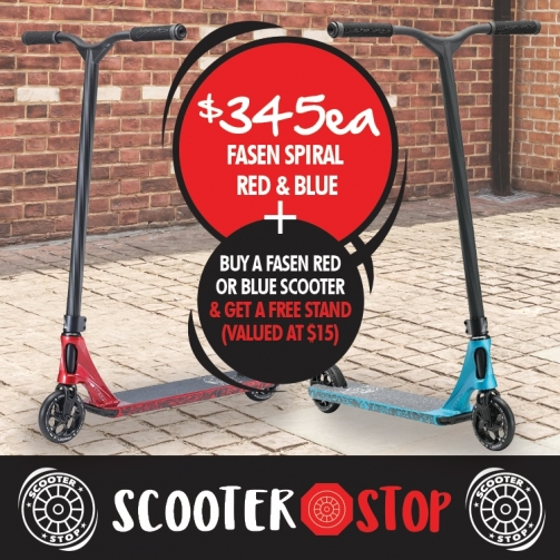 Scooter Shop Fasen Spiral Scooters