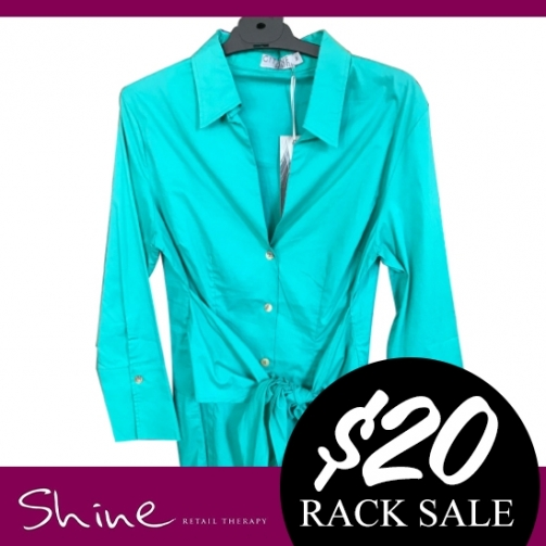 Shine Rack Sale Blue Top