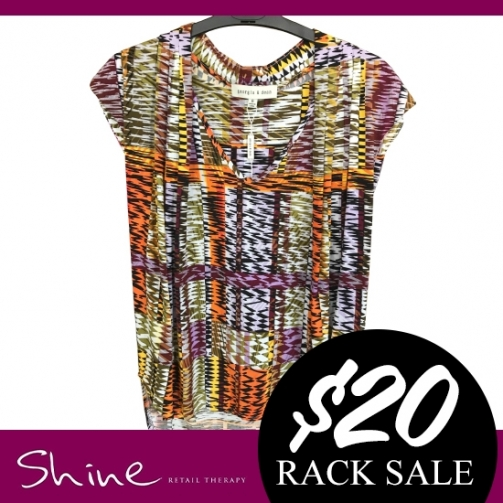 Shine Rack Sale Colourful Top