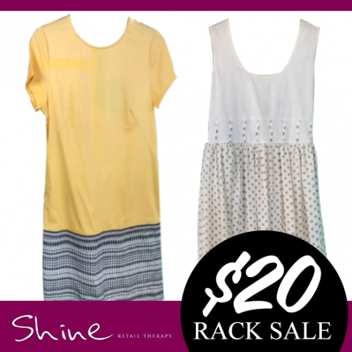 Shine Rack Sale Dresses