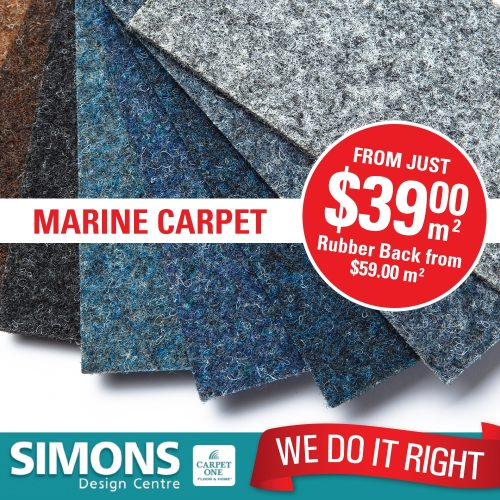 Simons Marine Carpet