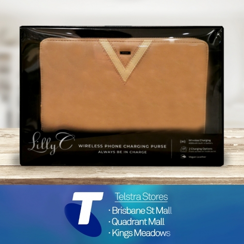 Telstra KM Lilly C Charging Wallet