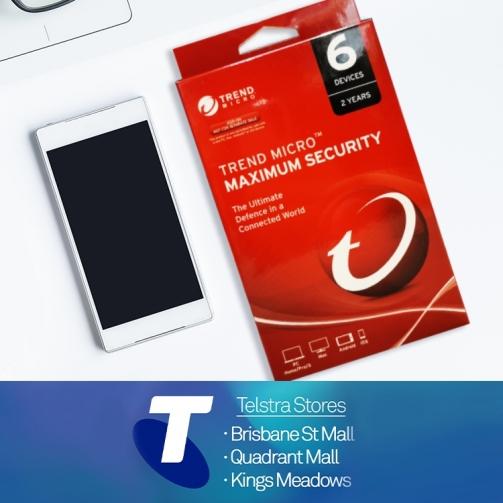 Telstra KM Trend Micro Maximum Security