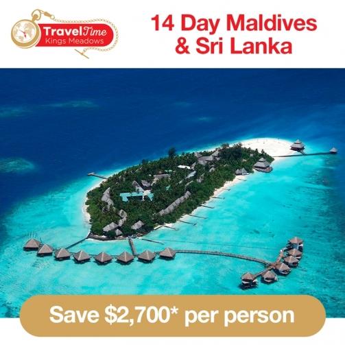 Travel Time Maldives Sri Lanka