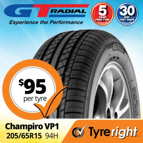 Tyre Right GT Radial Champiro VP1