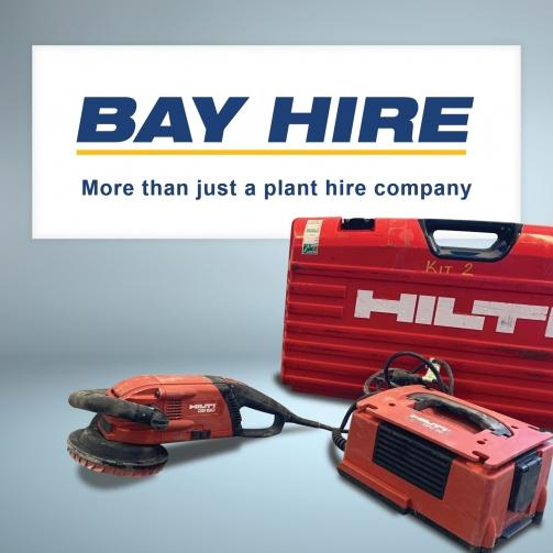 Bay-hire-grinder