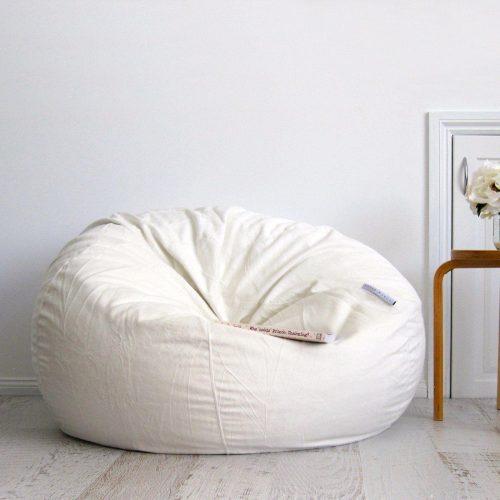 Cream fur beanbag ivory and deene 5bf143cf a7de 4b9f aadc 6ee6d23ec234 1600x1600