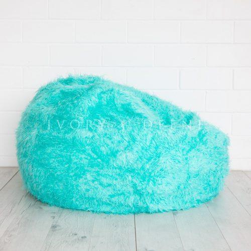 Fur beanbag turquoise aqua fairy floss 2 2 1600x1600