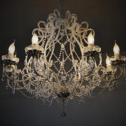 Layla jane shabby french cream ivory chandelier 8 light 1600x1600