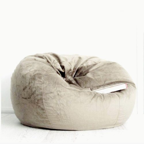 Mocha fur beanbag ivory and deene 1242x1242