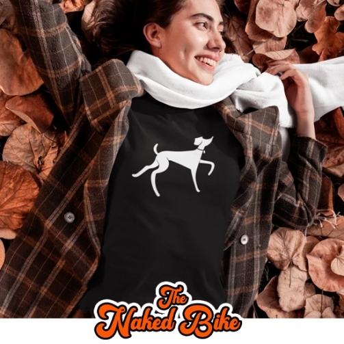 Naked Bike Greyhound T Shirt2