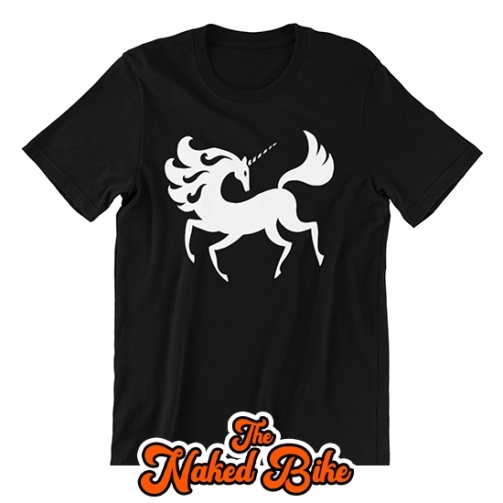 Naked Bike unicorn silhouette thisrt