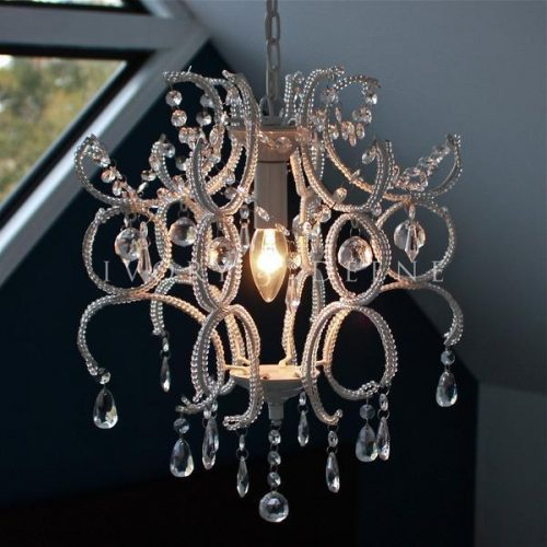 White shabby crystal chandelier night jewel 600x