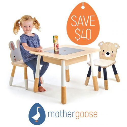 1 Mother Goose Table Chairs update