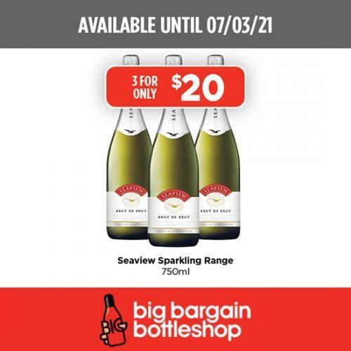 BBB Seaview Sparkling Wine Range