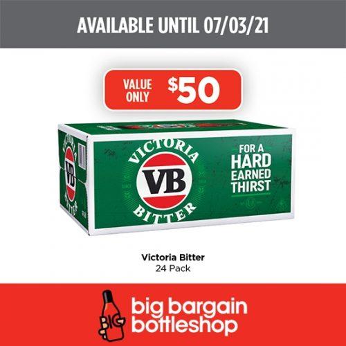 BBB Victoria Bitter Beer